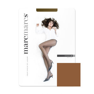 Panty Basic 20 Denier SheerChestnut