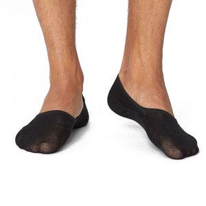 Sneakersok No Show Heren Zwart