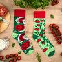 Mismatched Sokken Tomaten